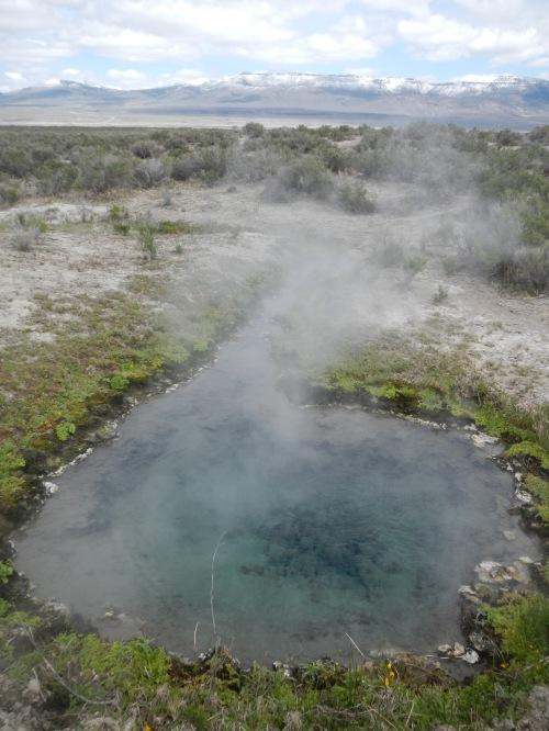 Boiling pool.